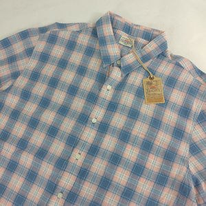 Faherty Men Ventura Shirt Plaid Size 2XL